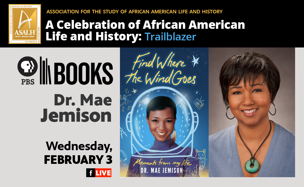 PBS Books celebrates Black History Month with Mae Jemison