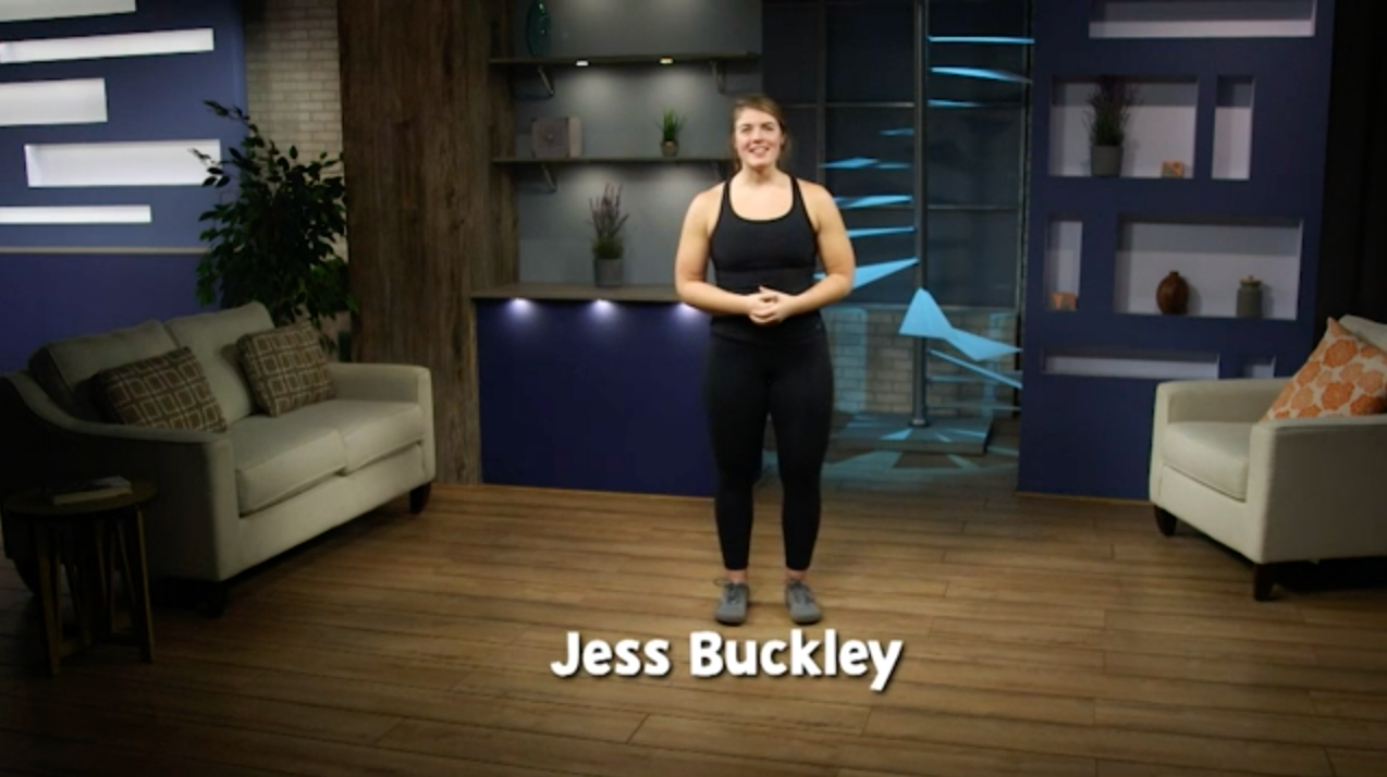 InPACT at Home instructor Jess Buckley