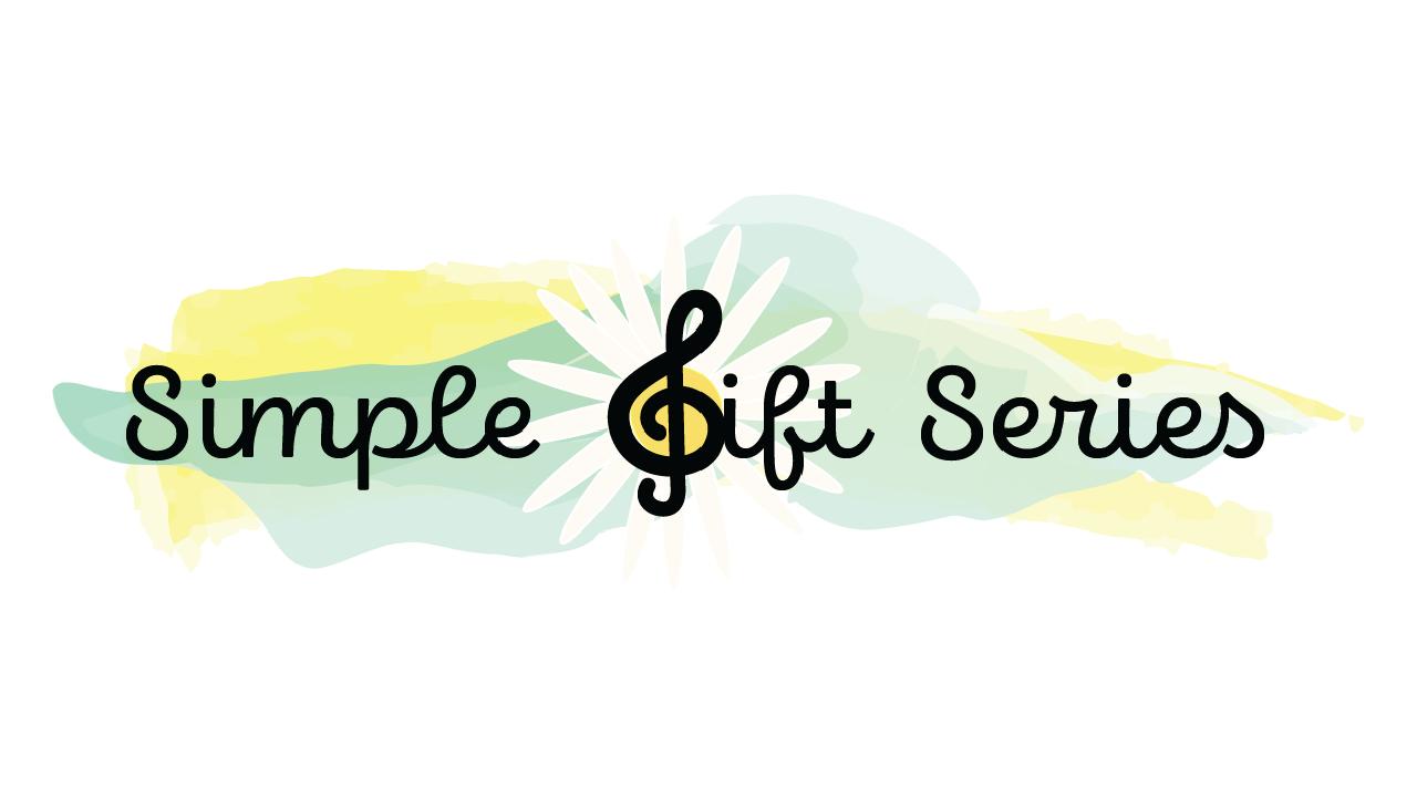 Simple gift series logo