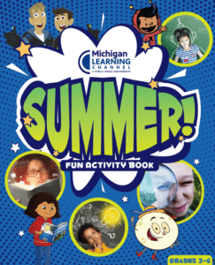 grades 3-6 Michigan Learning Channel Activity book cover