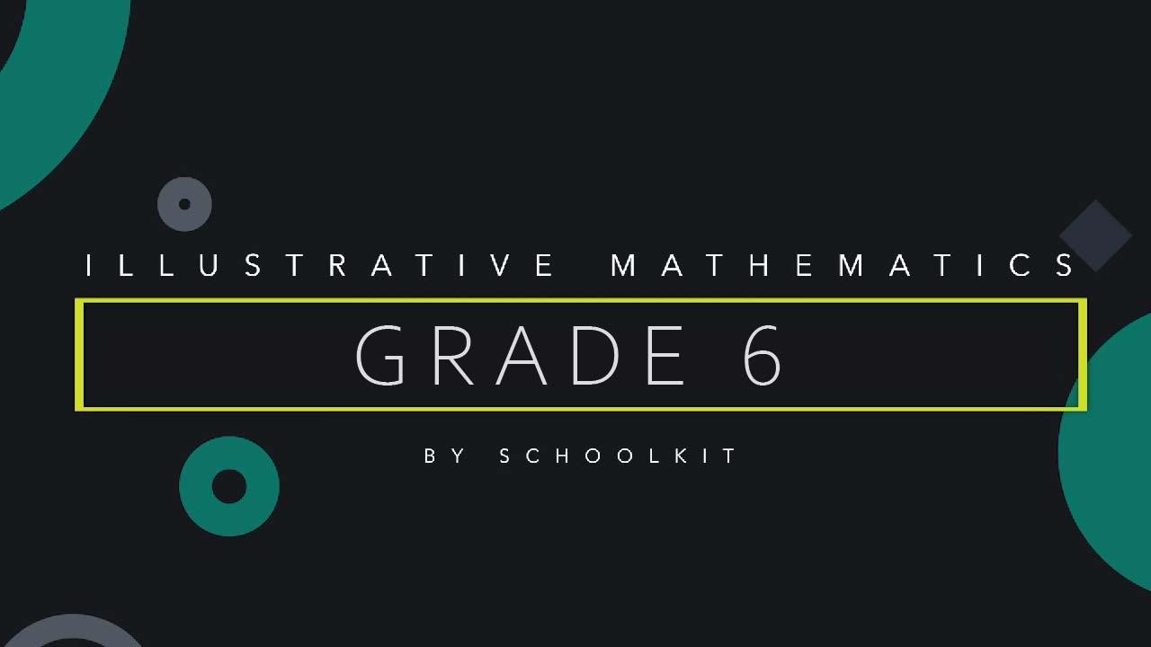 illustrative math 6th grade
