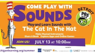 Sounds with the Cat in the Hat, Detroit PBS Kids, and Michigan Learning Channel