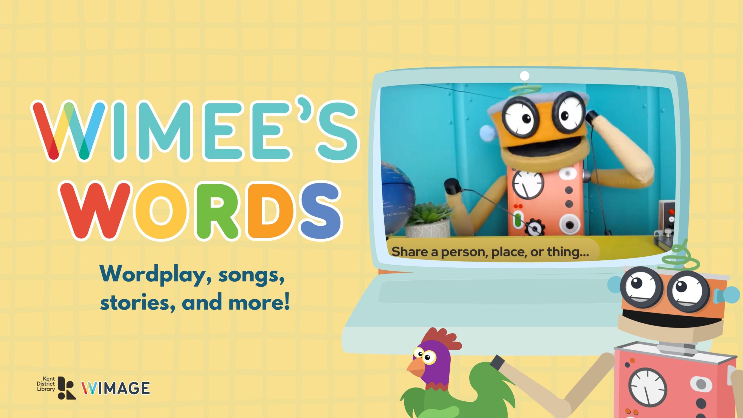 Wimee's Words Header image