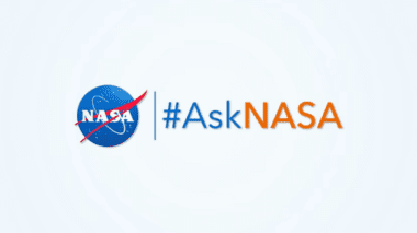#AskNasa logo