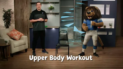 still from InPact at home with the Detroit Lions