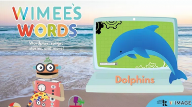 Wimee's Words dolphins Episode graphic